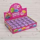 """Блеск для губ """"Макарун"""", 10 г, вкус ежевики, цвет фиолетовый"""