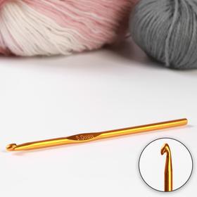 Крючок для вязания, d = 5 мм, 15 см, цвет МИКС Ош