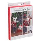 Мягкая игрушка «Домашний медведь Брайн», набор для шитья, 18 × 22 × 3.6 см