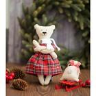 Мягкая игрушка «Домашняя медведица Магда», набор для шитья, 18 × 22 × 3.6 см