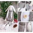 Мягкая игрушка «Домашний зайка Кэрот», набор для шитья, 18 × 22 × 3.6 см