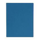 Тетрадь на кольцах А5, 80 листов клетка, со сменным блоком, ПВХ обложка, синяя