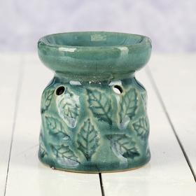 Аромалампа керамика 'Листья' МИКС 9х7,5х7,5 см Ош