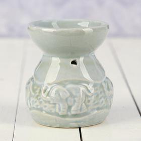 Аромалампа керамика 'Тропики' 8х6,5х6,5 см Ош