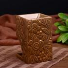 "Аромалампа керамика ""Цветочный букет"" 11,5х7,5х7,5 см"