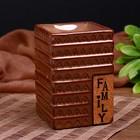 Аромалампа керамика FAMILY 12х8х8 см