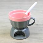 серо-розовый