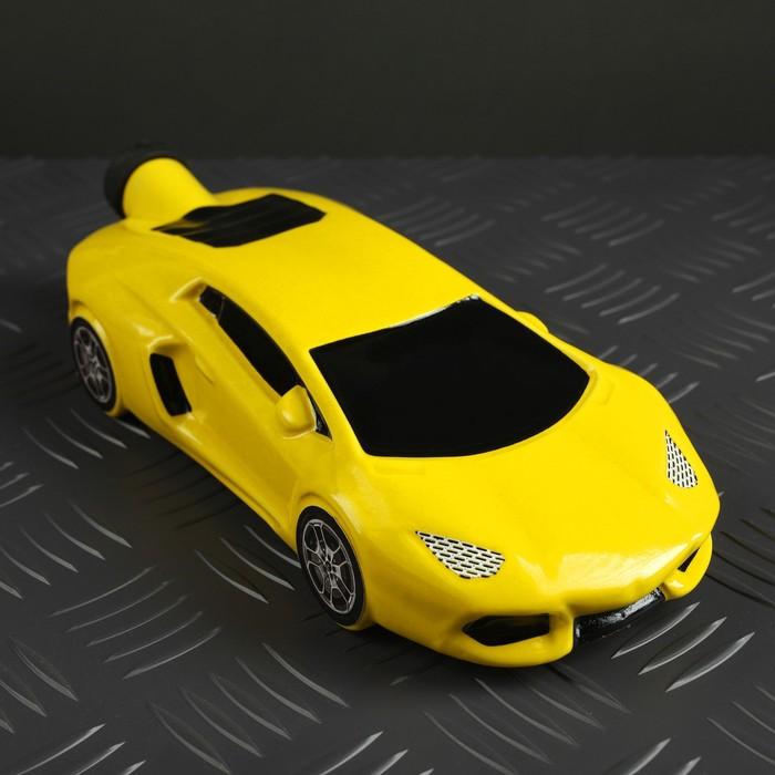 """Штоф """"Машина Ламба"""", жёлтый"""