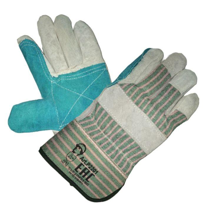 Перчатки комбинированные «Докер» манжет крага