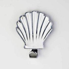 Крючок декоративный «Ракушка» прозрачный