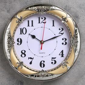 """Часы настенные, серия: Классика, """"Ева"""" 24х24 см, микс"""