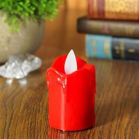 Свеча светодиодная «Самоцвет», горит жёлтым