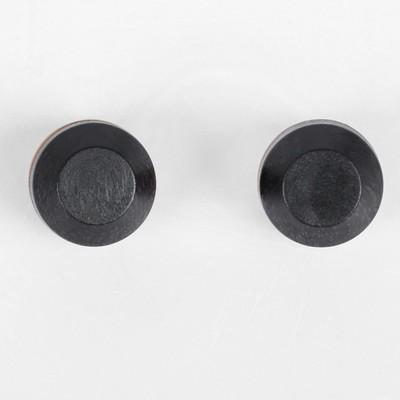 Глаза моргающие с ресничками, полупрозрачные, набор 2 шт, цвет голубой, размер 1 шт: 2,2 см