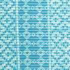 """Коврик для ванной комнаты 0,65х15 м """"Квадраты"""" цвет голубой - фото 905132"""