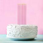 """Набор свечей в торт """"Коктейльные"""" 10 шт."""