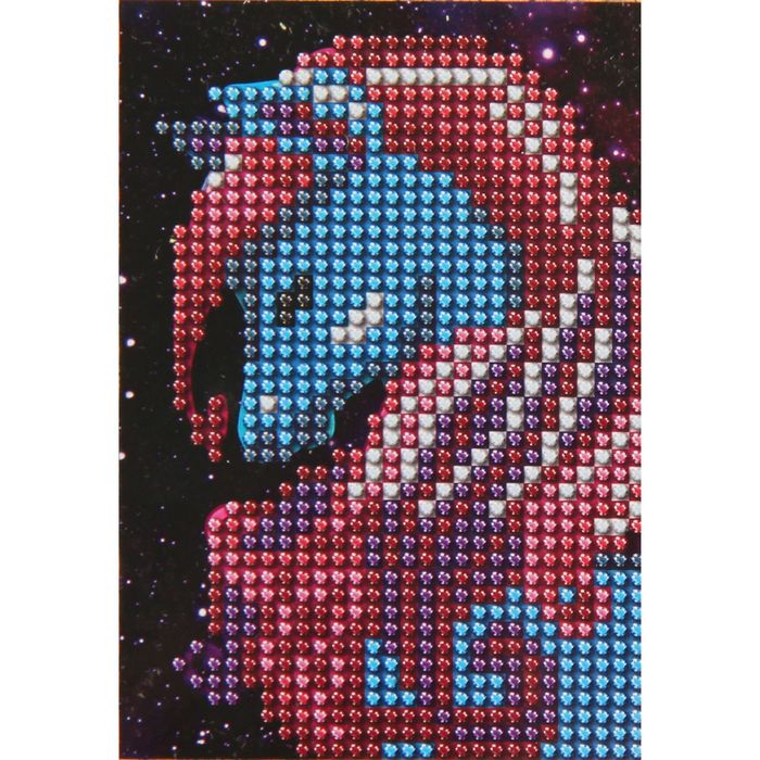 Алмазная вышивка с частичным заполнением с рамкой «Лошадь», 9 х 13 см. Набор для творчества - фото 724500944