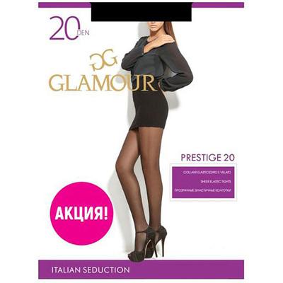 Колготки женские Prestige 20 den цвет чёрный (nero), р-р 2