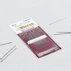 Иглы швейные для вышивания, №5-10, KSM-1052, 16шт