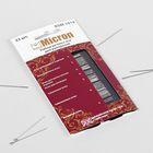 Иглы швейные для рукоделия, KSM-1014, 33шт