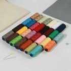 Набор ниток 40/2, 30шт, №04, 366м, разноцветный