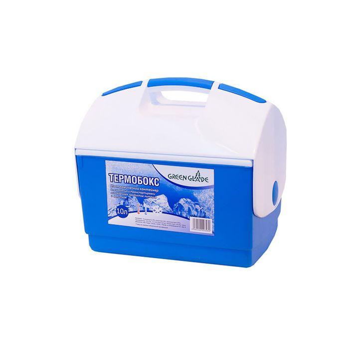 Термобокс 10л голубой