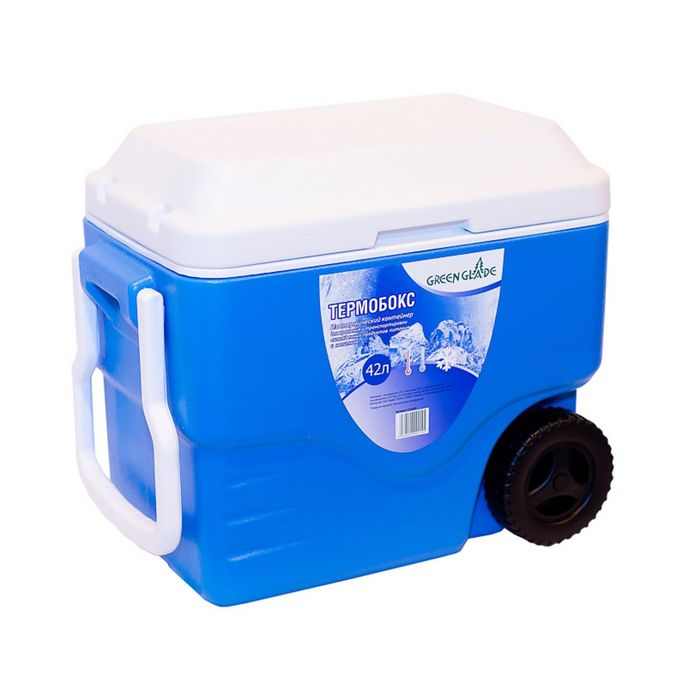Термобокс 42л голубой