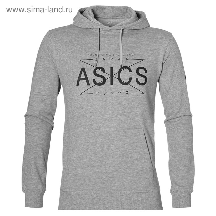 Толстовка ASICS 141090 0714 GRAPHIC HOODY  XL