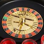 """Пьяная игра """"Алко-Вегас"""": 16 рюмок, рулетка чёрная, микс"""
