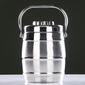 Термос суповой 'Походный' (внутри металл) 1,4 л, 2 тарелки Ош