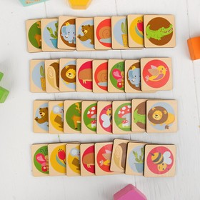 Развивающая игра «Мемори» фишка: 4,6 × 4,6 см