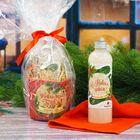"""Подарочный набор """"С Новым годом!"""": полотенце и молочко для тела, 250 мл"""