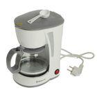 Кофеварка Sakura SA-6107W, 550-650 Вт, 600 мл, белый