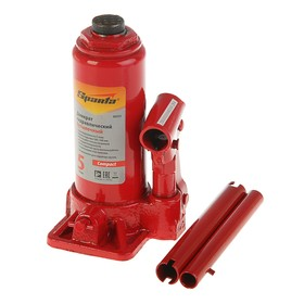 Hydraulic jack SPARTA Compact, 5 t, bottle, lift 180–340 mm.