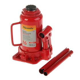 Hydraulic jack SPARTA Compact, 16 t, bottle, lift 205-400 mm.