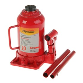 Hydraulic jack SPARTA Compact, 20 t, bottle, lift 215–405 mm.
