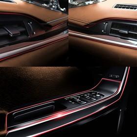 Molding a flexible interior, red, 5 m