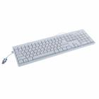 Клавиатура SVEN Standard 303, USB, белая