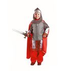 """Карнавальный костюм """"Богатырь"""", текстиль, р-р 30, рост 116 см"""
