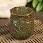 "Ceramic oil burner ""Flight of the dragonflies"" MIX 8х7х7 cm"