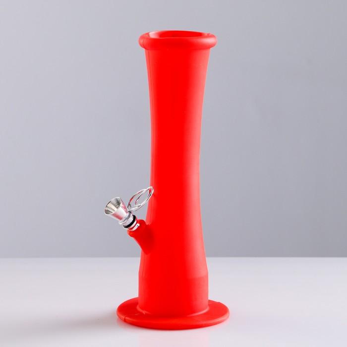 """Бонг """"Трубка для табака"""" из силикона, микс, 22.5 см"""