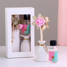 """Gift set with aromamasla 15 ml """"Vase with flower"""", the scent of strawberries"""