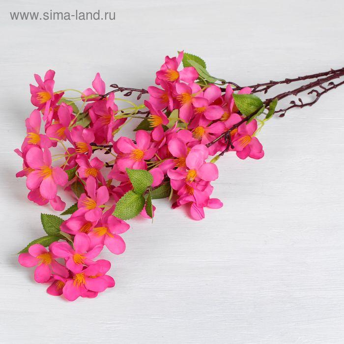 """Цветы искусственные """"Цинерария"""" 6*85 см, малиновая"""