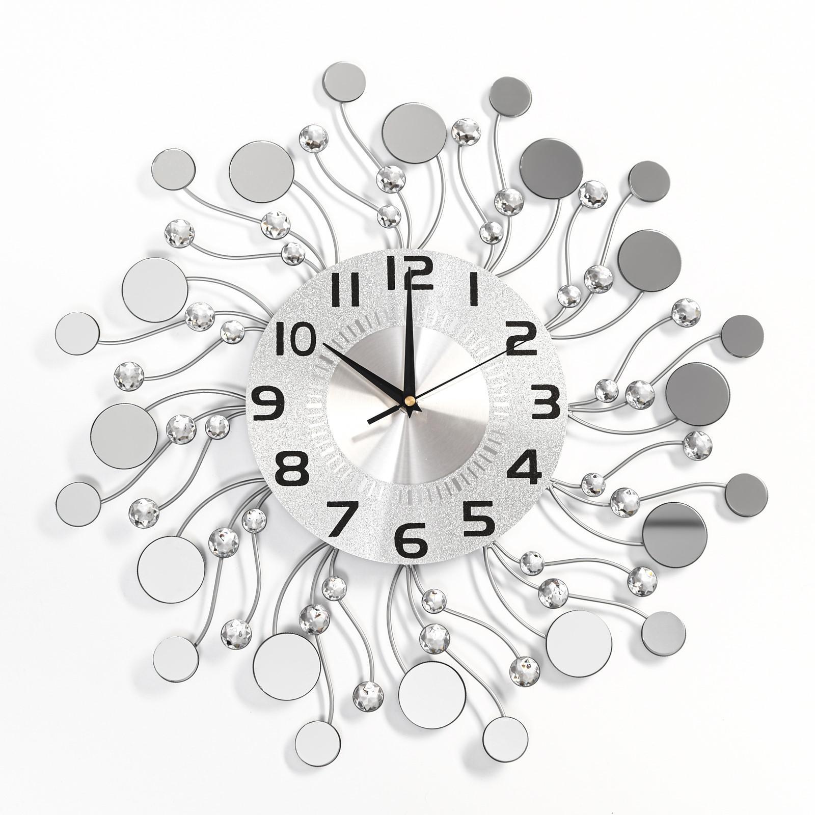 стеклянные настенные часы с фото москва