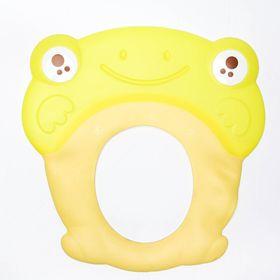 Козырёк для купания силиконовый, цвет жёлтый