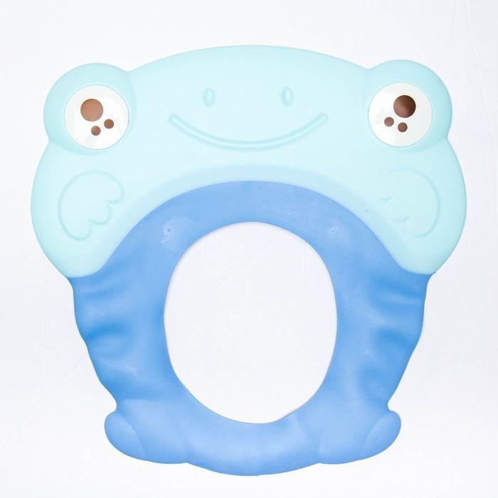 Козырёк для купания силиконовый, цвет синий