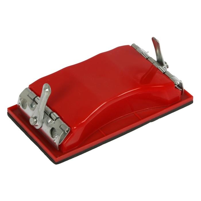 Блок шлифовальный с механическим зажимом, 163х86 мм