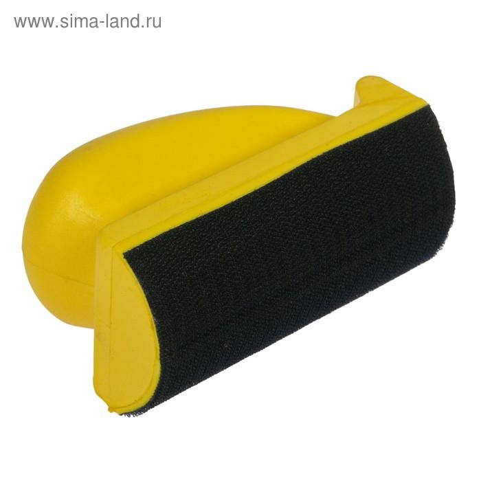 Блок шлифовальный мягкий, овальный, 70х125 мм