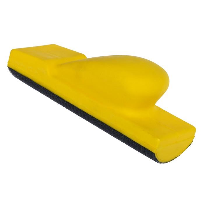 Блок шлифовальный мягкий, овальный, 70х198 мм