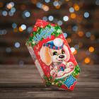 """Подарочная коробка """"Щенок"""", конфета малая, сборная, 9 х 5.8 х 12.8 см"""