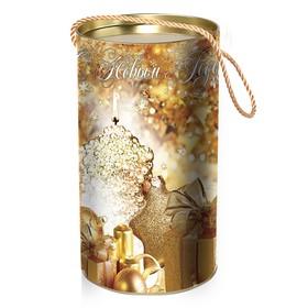 Подарочная коробка-тубус 'Свечи', 12 х 22 см Ош